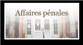 Affaires penales